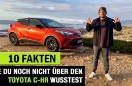 Toyota C-HR, Jan Weizenecker