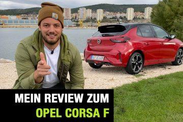 "Neuer Opel Corsa F ""GS Line"" 1.2 Turbo (130 PS) - Fahrbericht im Video, Jan Weizenecker"
