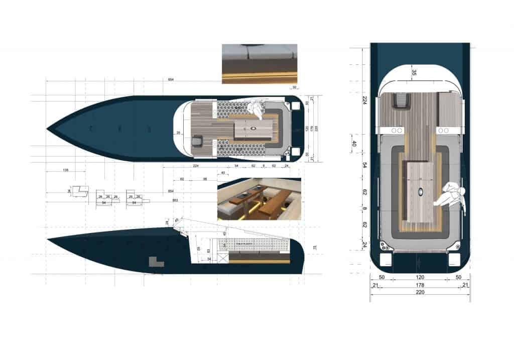 Zweites Leben für Renault E-Auto-Batterien auf der Seine, Black Swan