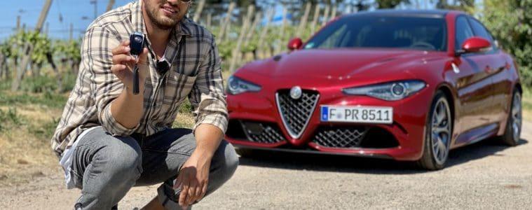 2020 Alfa Romeo Giulia Quadrifoglio, Jan Weizenecker
