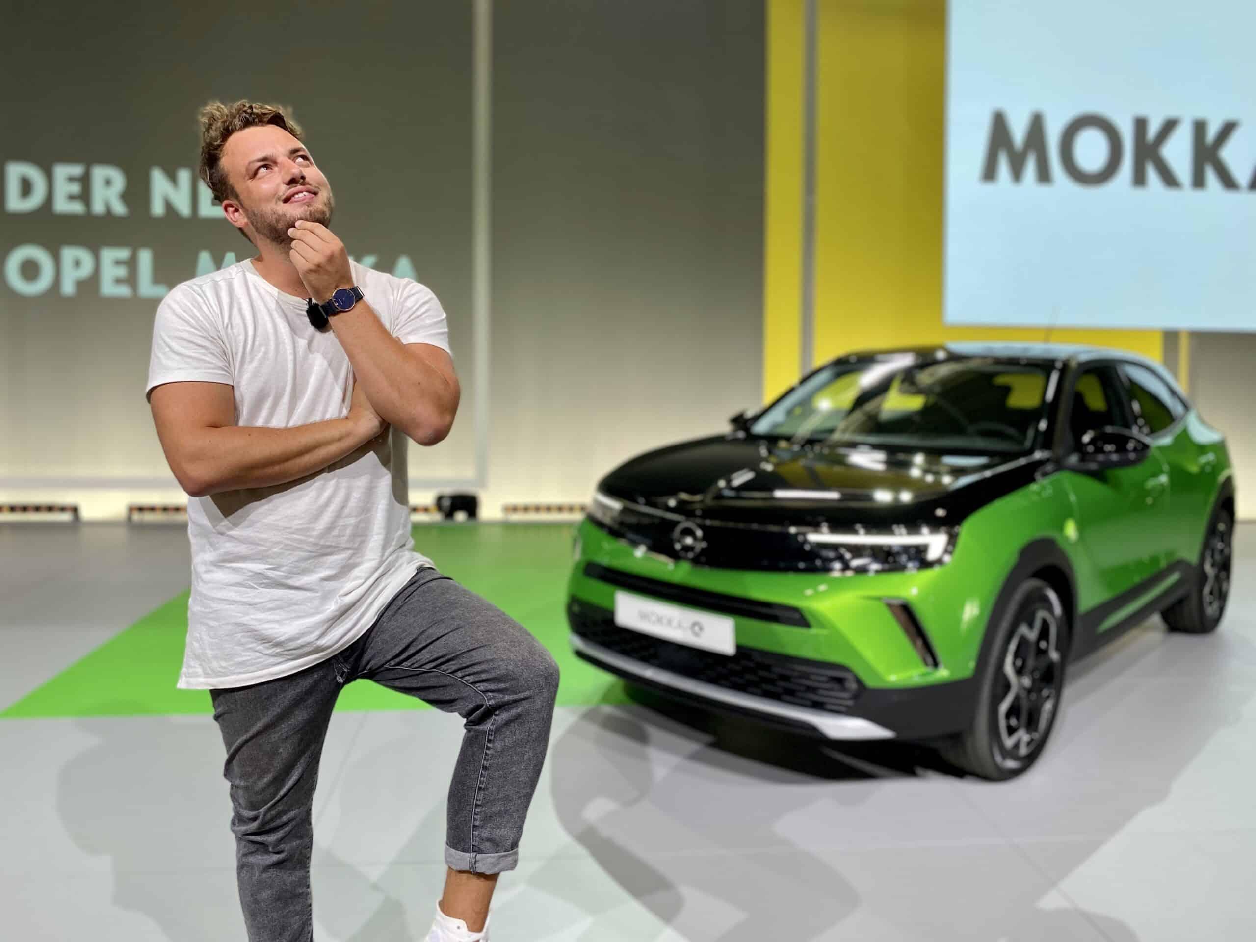 Der neue vollelektrische Opel Mokka-e (136 PS) kommt