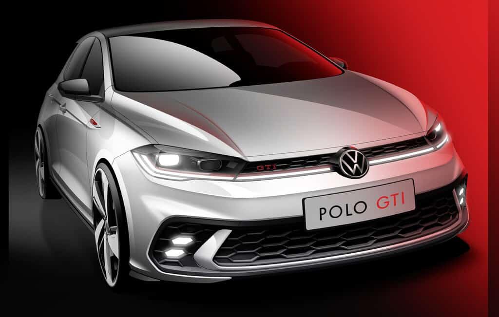 VW Polo GTI (Skizze)